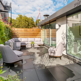 Photo of a contemporary terrace in London.