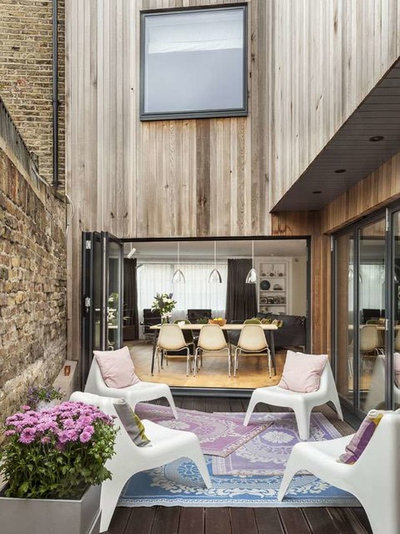Contemporary Terrace by naganjohnson architects