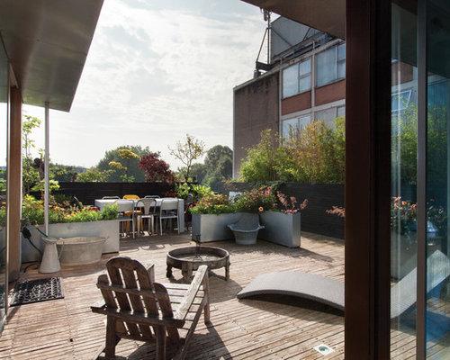 Billeder og inspiration til amerikansk terrasse og altan i London