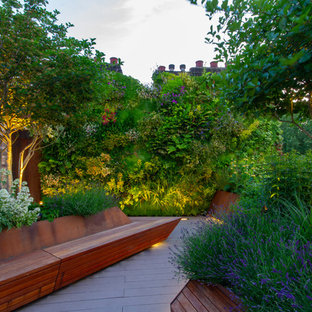 Contemporary terrace in London.