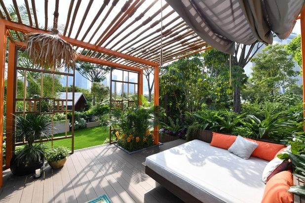 Восточный Терраса by Kate Gould Gardens