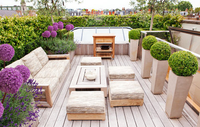 10 Great Design Ideas for Tiny Terraces