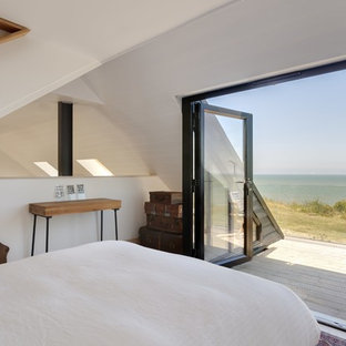 This is an example of a coastal terrace in Kent with no cover.