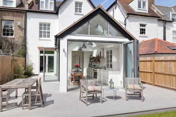 terrasses couvertes exterieures amnager une cuisine dut couverte sur une terrasse en bois with. Black Bedroom Furniture Sets. Home Design Ideas