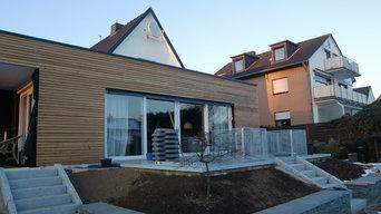 Anbau an bestehendes Wohnhaus