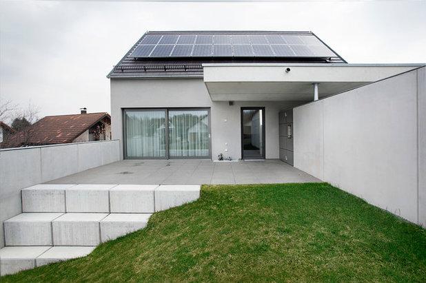Contemporáneo Terraza y balcón by ralph besser architektur