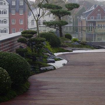 Asiatisch Terrasse