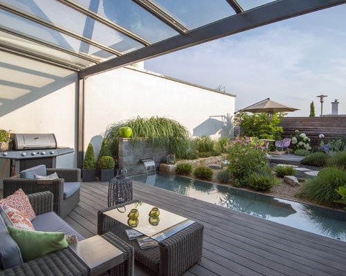 moderne terrasse mit outdoor k che ideen design bilder houzz. Black Bedroom Furniture Sets. Home Design Ideas
