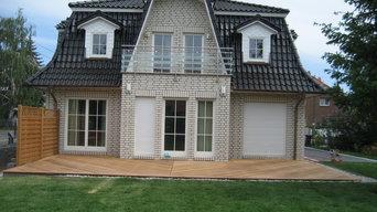 Außenanlage Einfamilienhaus