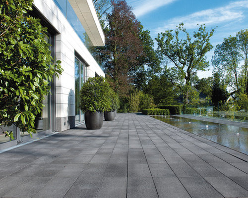 moderne terrasse ideen f r die terrassengestaltung houzz. Black Bedroom Furniture Sets. Home Design Ideas