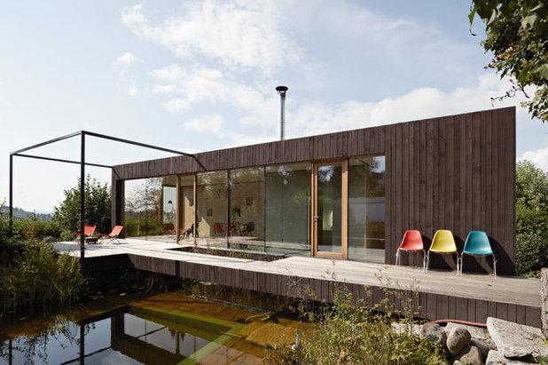 wohnen auf einer ebene 11 der sch nsten bungalows im gr nen. Black Bedroom Furniture Sets. Home Design Ideas