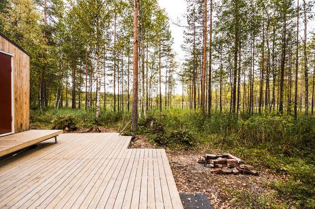 Scandinave Terrasse en Bois by studio politaire