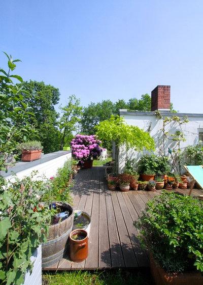 Farmhouse Terrace by Julia Schoppe