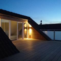 Dachterrasse - Dacheinschnitt