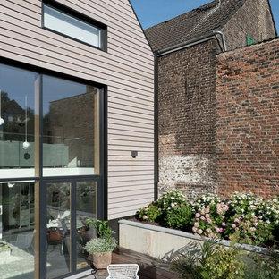 Landhausstil Terrasse Mit Pflanzwand Ideen Design Bilder Houzz