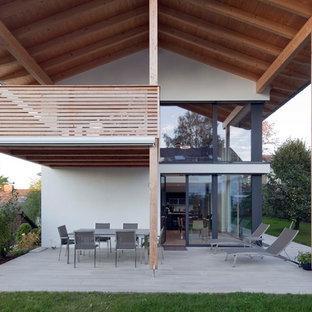 Terrasse hinter dem Haus Ideen, Design & Bilder | Houzz