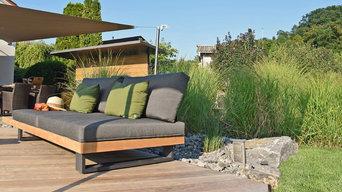 Genuss im Garten: Outdoorküche und Lounge Terasse