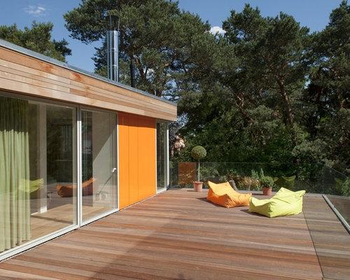 Moderne dachterrasse ideen f r die terrassengestaltung for Modernes haus dachterrasse
