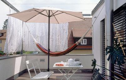 9 Ideen für den Sonnenschutz auf Balkonen