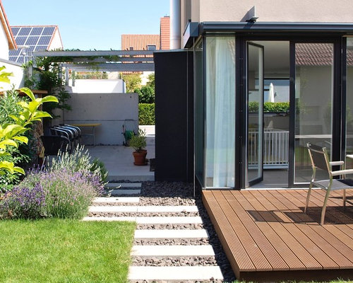 moderne terrasse mit pergola ideen f r die terrassengestaltung houzz. Black Bedroom Furniture Sets. Home Design Ideas