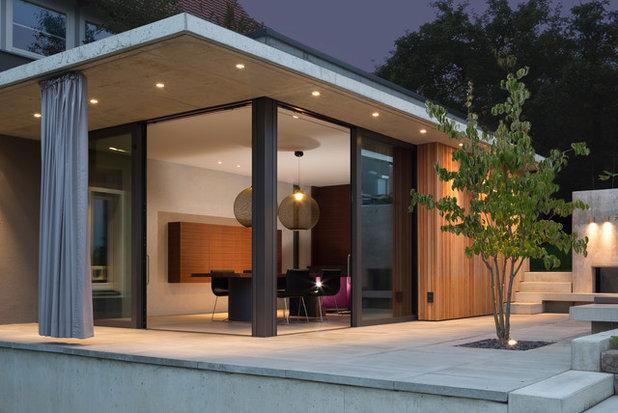 Idee au en beleuchtung - Terrassenbeleuchtung wand ...