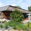 Houzz Австрия: Деревянный дом с «зеленой» крышей под Веной