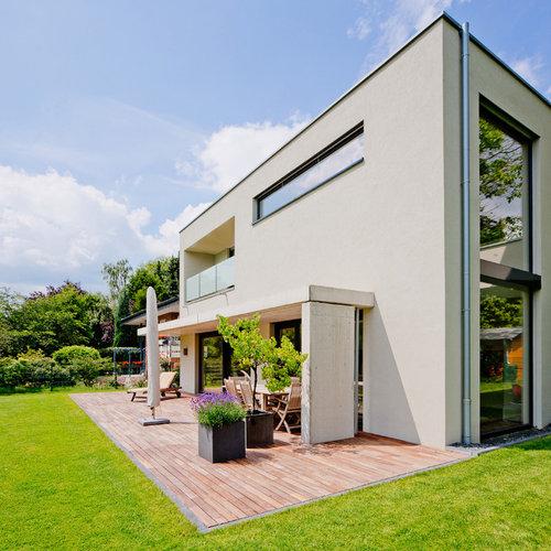 Moderne terrasse mit k belpflanzen ideen f r die terrassengestaltung - Terrassen fotos ...