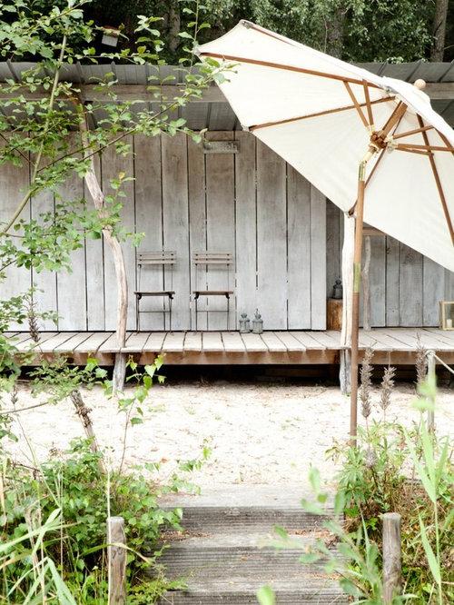 Maritime Terrasse - Ideen Für Die Terrassengestaltung | Houzz Terrasse Aus Holz Gestalten Gemutlichen Ausenbereich