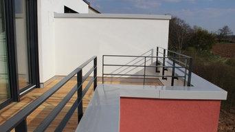 Landau, Neubau von 7 Stadthäusern