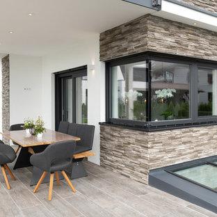 Überdachte Moderne Terrasse Ideen, Design & Bilder | Houzz