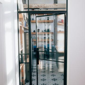 Loft Tür mit festem Element 1175x2844mm in Siershahn
