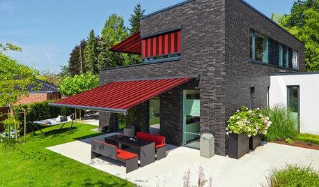 Jalousien und Co.: 15 Möglichkeiten für mehr Schatten im Wohnraum