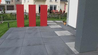 Moderne Gartenanlage