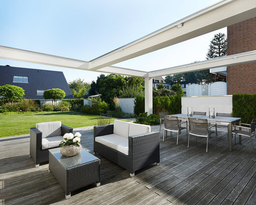 berdachte terrasse n rnberg ideen design bilder houzz. Black Bedroom Furniture Sets. Home Design Ideas