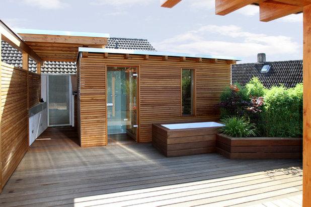 Modern Terrasse by Karl Kaffenberger     Architektur | Einrichtung