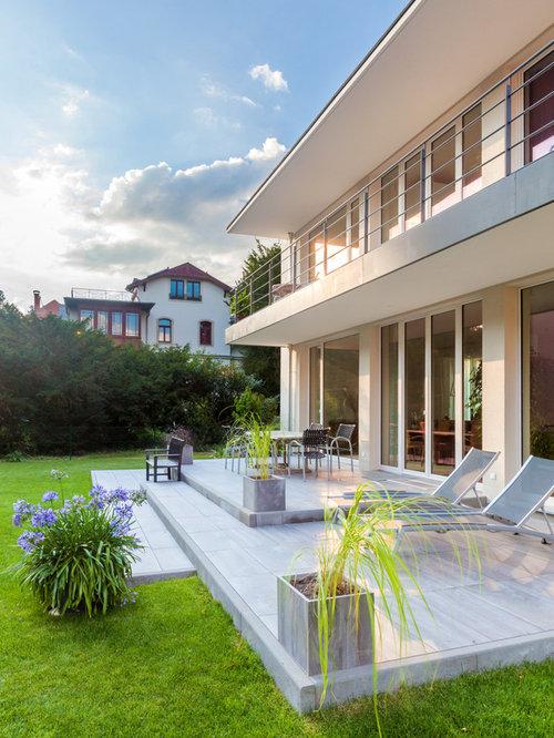 gro e terrassenplatten ideen bilder houzz. Black Bedroom Furniture Sets. Home Design Ideas