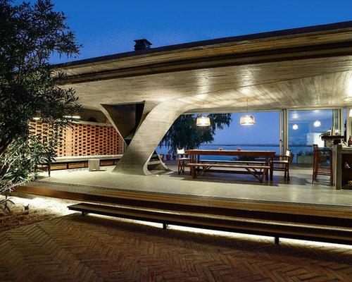 moderne terrasse ideen design bilder houzz. Black Bedroom Furniture Sets. Home Design Ideas