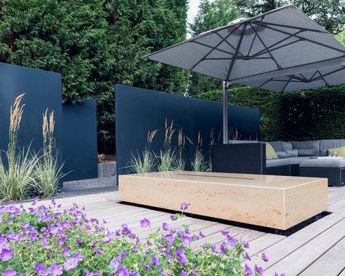 Terrasse ideen f r die terrassengestaltung houzz for Moderne terrassen