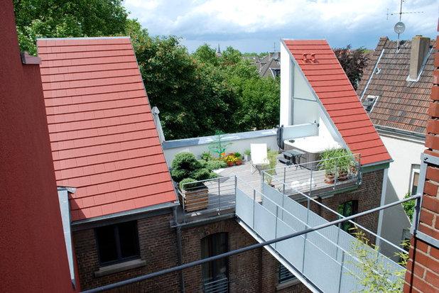 Minimalistisch Terrasse by krense architekten