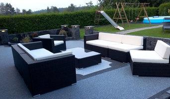 Steinteppich - Kieselbeschichtung