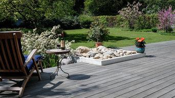Surinamholz Walaba - wunderschön vergraute Terrasse