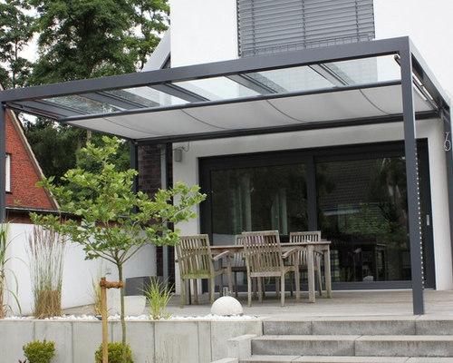 Uberdachung Aus Glas ~ Terrassen Überdachung flachdach mit glas