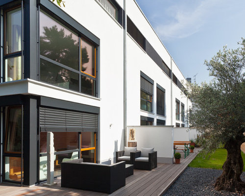 sichtschutz terrasse ideen bilder houzz. Black Bedroom Furniture Sets. Home Design Ideas