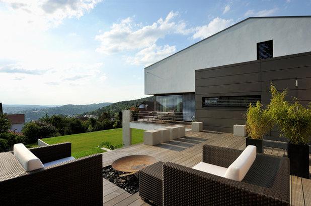 Modern Terrasse By Architekturbüro Msm Schneck