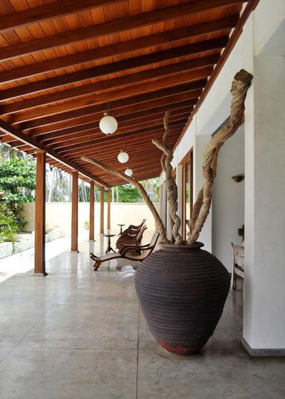 Tropical Deck by Juliane Kopelent Interiordesign Berlin