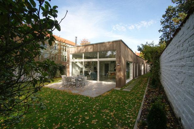 Модернизм Терраса by Architekturbro Dauber