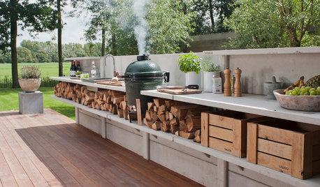 Trend draußen kochen: 9 Fragen zum Einrichten einer Outdoorküche