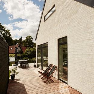 Scandinavian terrace in Aarhus.