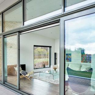 Foto di una terrazza minimalista