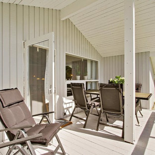 Inspiration for a scandi terrace in Aalborg.